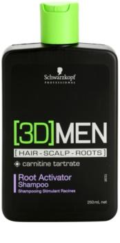 Schwarzkopf Professional [3D] MEN Shampoo  voor Activering van Haarwortel